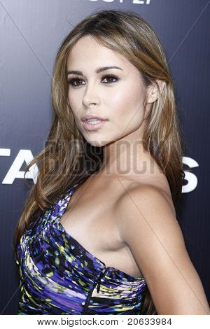 LOS ANGELES - AUG 4:  Zulay Henao arriving at the premiere of Screen Gems' 'Takers' at the Arclight Cinerama Dome in Los Angeles on August 4, 2010.