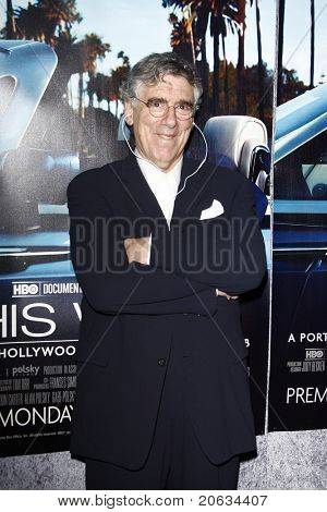 LOS ANGELES - MAR 22:  Elliot Gould arrives at the Los Angeles HBO Premiere of 'His Way' at Paramount Studios in Los Angeles, California on March 22, 2011.