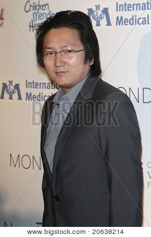 LOS ANGELES - FEB 18:  Masi Oka arriving at the Children Mending Hearts Gala held at the House Of Blues in Hollywood, Los Angeles, California on February 18, 2009.