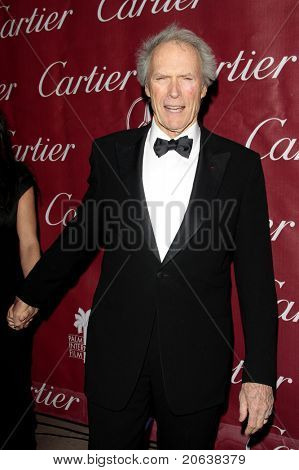 PALM SPRINGS - Jan 6:  Clint Eastwood attends the 20th Palm Springs Film Festival Gala on January 6, 2009 in Palm Springs, California.