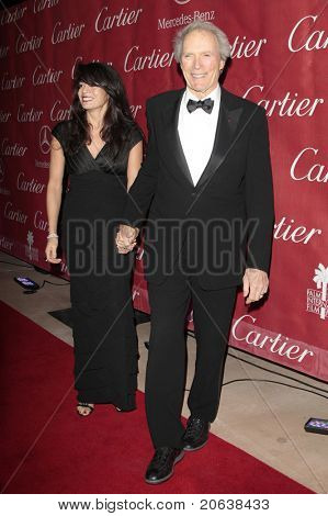 PALM SPRINGS - Jan 6:  Clint Eastwood and wife Dina attend the 20th Palm Springs Film Festival Gala on January 6, 2009 in Palm Springs, California.