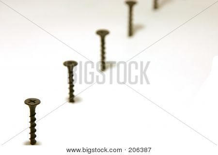 Screws In Line