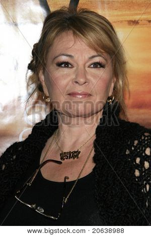 LOS ANGELES - JAN 8: Roseanne Barr arriving at the premiere of 'God Grew Tired Of Us' at the Pacific Design Center in West Hollywood, Los Angeles, CA on January 8, 2007.