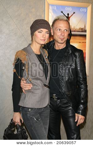 LOS ANGELES - JAN 8: Rudolf Schenker arrives at the premiere of 'God Grew Tired Of Us' at the Pacific Design Center on January 8, 2007 in West Hollywood, Los Angeles, CA.
