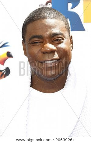 LOS ANGELES - APR 10:  Tracy Morgan arrives at the 'Rio' Los Angeles Premiere at Grauman's Chinese Theatre in Los Angeles, California on April 10, 2011.