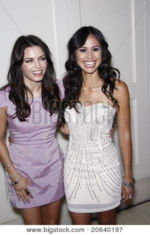 WEST HOLLYWOOD, CA  - APR 13: Jenna Dewan and Kimberly Snyder at the Kimberly Snyder Book Launch Party For 'The Beauty Detox Solution' at The London Hotel on April 13, 2011 in West Hollywood, California.