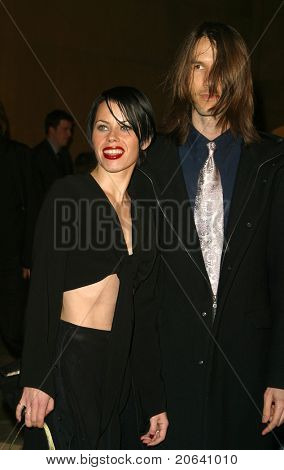 LOS ANGELES - MAR 12:  Fairuza Balk, Stephen Gilmore at the 'Willard' premiere at the Egyptian Theater in Los Angeles, California on March 12, 2003.