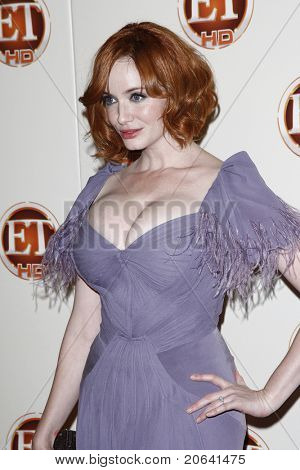 LOS ANGELES - AUG 29:  Christina Hendricks at the Entertainment Tonight 62nd Annual Emmy After Party at Vibiana, Los Angeles, California on August 29, 2010.
