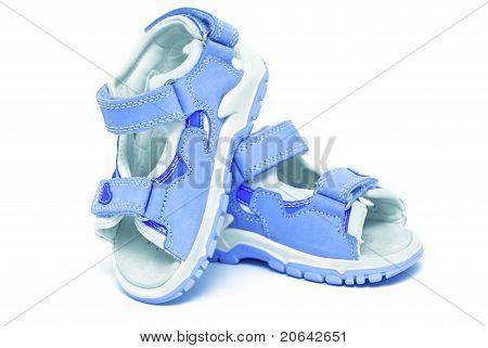 Blue Child's Sandals