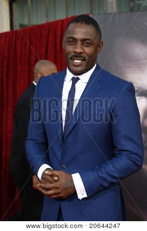 LOS ANGELES - MAY 2:  Idris Elba at the premiere of Thor at the El Capitan Theater, Los Angeles, California on May 2, 2011.
