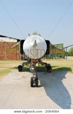Historic Mig-23 Jetfighter