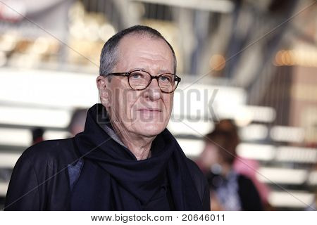ANAHEIM - MAY 7: Geoffrey Rush at the world premiere of 'Pirates of the Caribbean: On Stranger Tides' held at Disneyland in Anaheim, CA on May 7, 2011.
