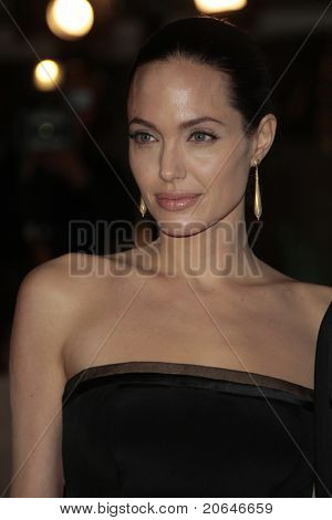 LOS ANGELES - DEC 8: Angelina Jolie at the premiere of 'The Curious Case of Benjamin Button' in Los Angeles, California on December 8, 2008.