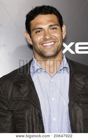 LOS ANGELES - MAY 19: Mark Sanchez at the premiere of 'The Hangover Part II' held at the Grauman's Chinese Theater in Los Angeles, CA on May 19, 2011.