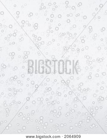 Clear Bubbling Soda Background