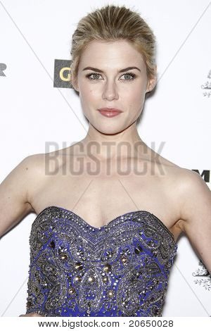 LOS ANGELES - JAN 22: Rachael Taylor at the 2011 G'Day USA Australia Week LA Black Tie Gala at the Hollywood Palladium in Los Angeles, California on  January 22, 2011.