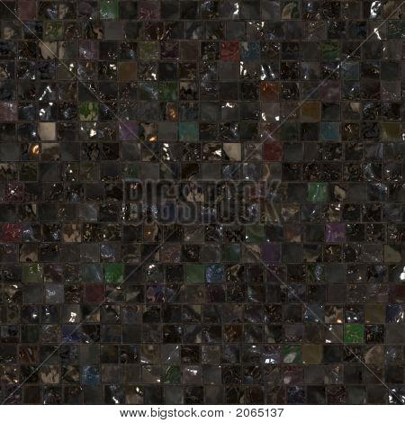 Dark Tile Mosaic