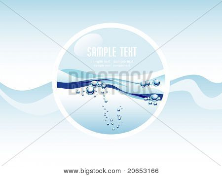 burbujas de agua