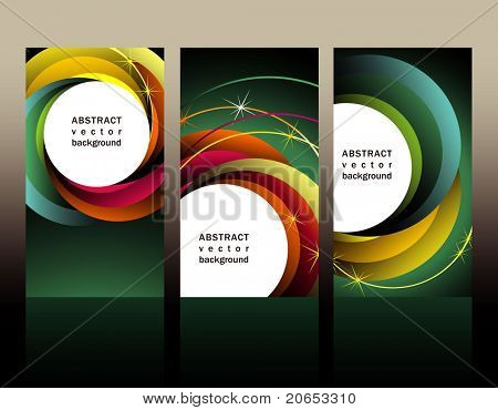 elegant  set business cards