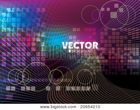 Abstract vector design 10eps