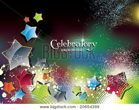 Celebratory background eps10