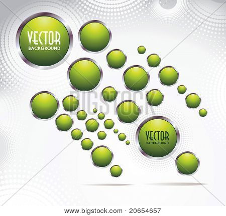 abstract background with button