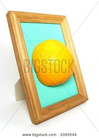 Orange In The Frame