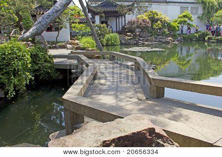 Calm Asian Garden