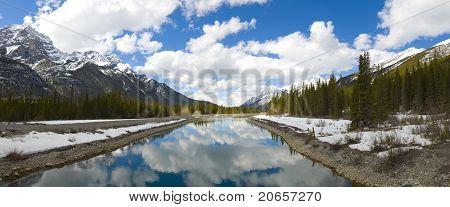 Majestic Scene In The Canadian Rockies