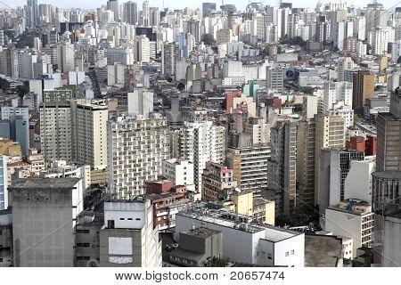 Skyline Of Sao Paulo .