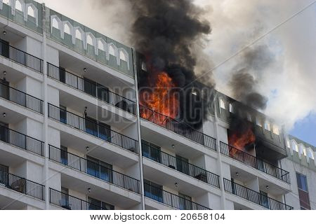 Building fire