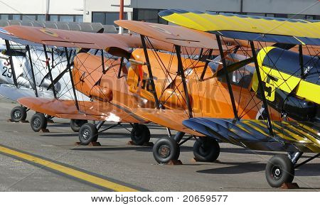 Biplane Stampe Vertongen SV4