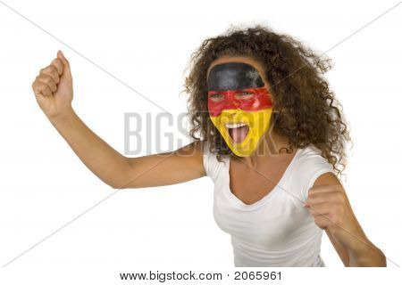 Screaming German Fan