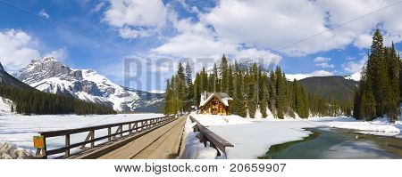 Emerald Lake Panorama, Canadian Rockies