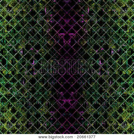 Illustrierte Glas Hintergrundmuster