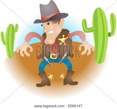 Cowboy Illustration