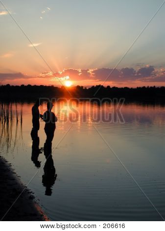 Fishing Sunset_
