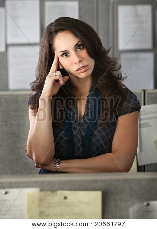 Stressed-out Office Worker