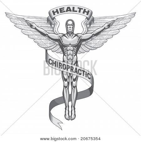 Símbolo de Quiropraxia