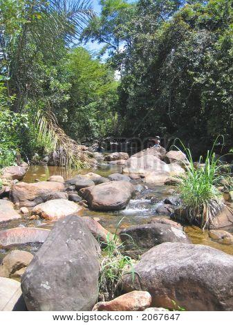Tropical River, Andapa, Marojejy Park, Madagascar