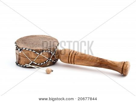 African Musical Drum  Instrument From Souvenir