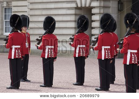 Changing of Royal Guard