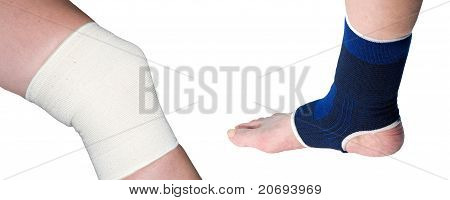 ankle and knee support