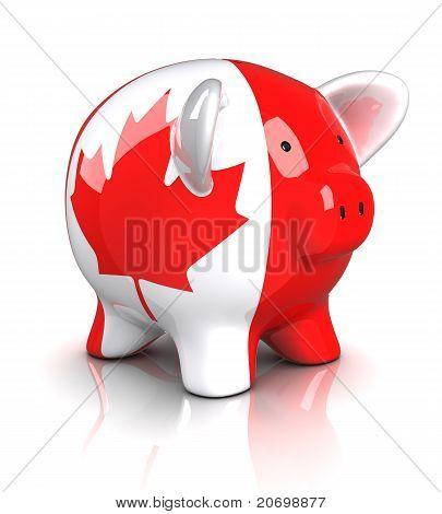 Piggy Bank - Canada