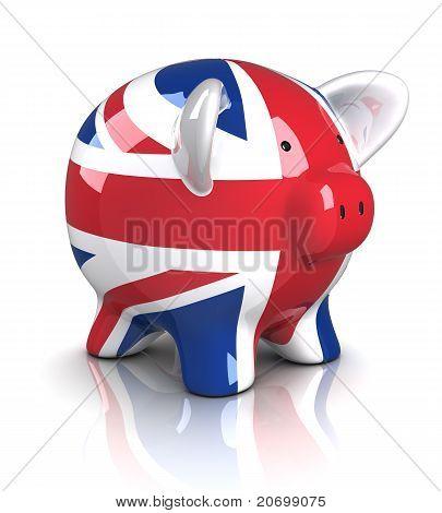 Cofrinho - Reino Unido