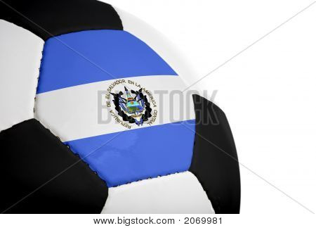 Salvadorian Flag - Football