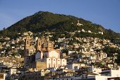 picture of taxco  - Taxco Mexico reknowned for its silver and its vistas - JPG