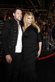 ANAHEIM - MAY 7: Kirstie Alley, Maksim Chmerkovskiy at the world premiere of 'Pirates of the Caribbe