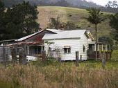 Photo of old farmhouse.