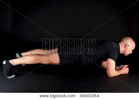 Pilates Position - Plank